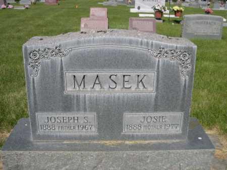 MASEK, JOSIE - Dawes County, Nebraska | JOSIE MASEK - Nebraska Gravestone Photos