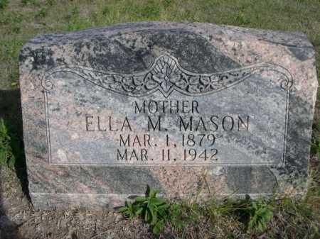 MASON, ELLA M. - Dawes County, Nebraska | ELLA M. MASON - Nebraska Gravestone Photos