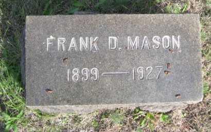 MASON, FRANK D. - Dawes County, Nebraska | FRANK D. MASON - Nebraska Gravestone Photos