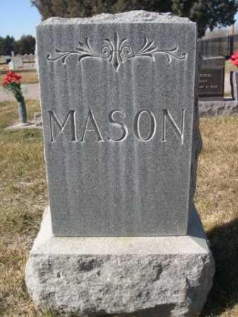 MASON, FAMILLY - Dawes County, Nebraska   FAMILLY MASON - Nebraska Gravestone Photos