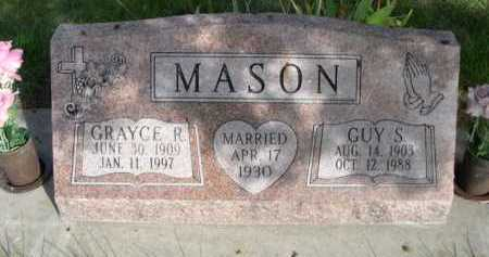 MASON, GRAYCE R. - Dawes County, Nebraska | GRAYCE R. MASON - Nebraska Gravestone Photos