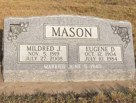MASON, EUGENE D. - Dawes County, Nebraska | EUGENE D. MASON - Nebraska Gravestone Photos