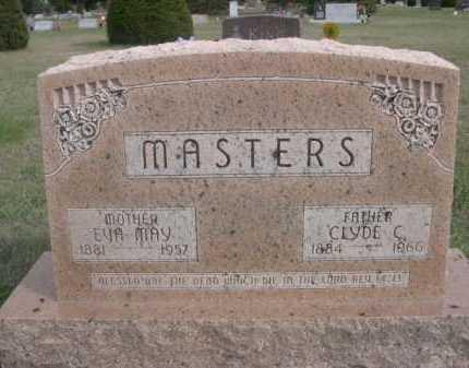 MASTERS, CLYDE C. - Dawes County, Nebraska   CLYDE C. MASTERS - Nebraska Gravestone Photos