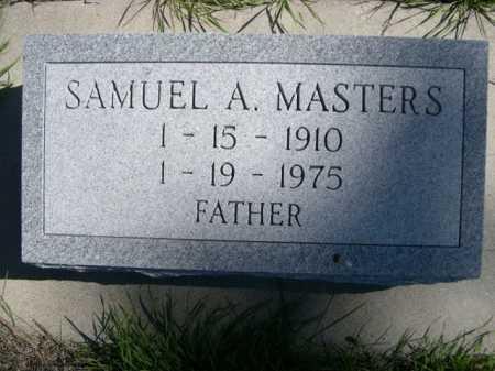 MASTERS, SAMUEL A. - Dawes County, Nebraska   SAMUEL A. MASTERS - Nebraska Gravestone Photos