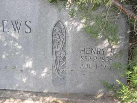 MATHEWS, HENRY R. - Dawes County, Nebraska | HENRY R. MATHEWS - Nebraska Gravestone Photos