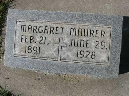 MAURER, MARGARET - Dawes County, Nebraska | MARGARET MAURER - Nebraska Gravestone Photos