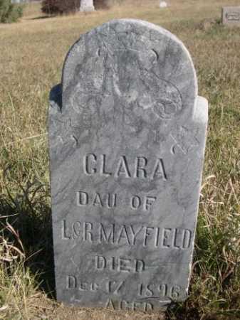 MAYFIELD, CLARA - Dawes County, Nebraska | CLARA MAYFIELD - Nebraska Gravestone Photos