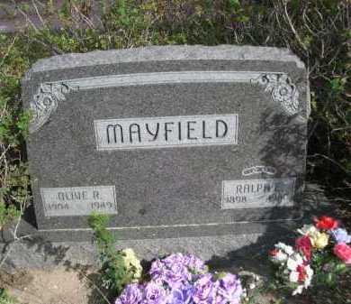 MAYFIELD, RALPH E. - Dawes County, Nebraska | RALPH E. MAYFIELD - Nebraska Gravestone Photos