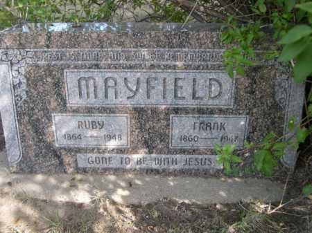 MAYFIELD, RUBY - Dawes County, Nebraska   RUBY MAYFIELD - Nebraska Gravestone Photos