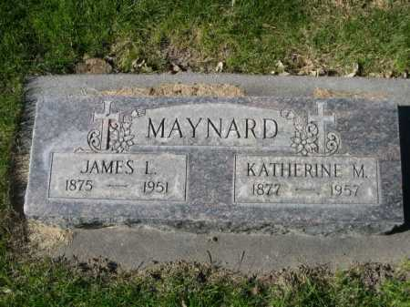 MAYNARD, JAMES L. - Dawes County, Nebraska | JAMES L. MAYNARD - Nebraska Gravestone Photos