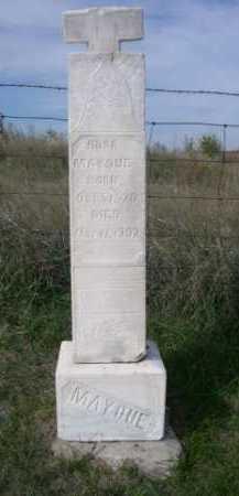 MAYOUE, ROSA - Dawes County, Nebraska | ROSA MAYOUE - Nebraska Gravestone Photos