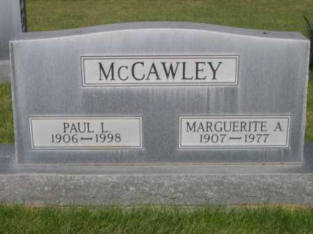 MCCAWLEY, MARGUERITE A. - Dawes County, Nebraska | MARGUERITE A. MCCAWLEY - Nebraska Gravestone Photos