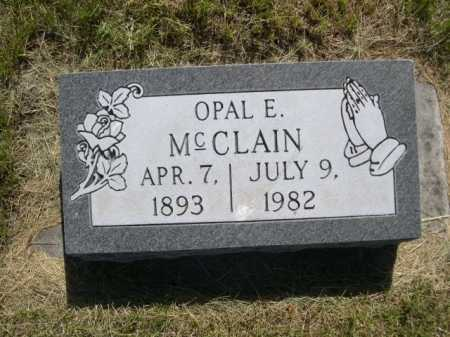 MCCLAIN, OPAL E. - Dawes County, Nebraska | OPAL E. MCCLAIN - Nebraska Gravestone Photos