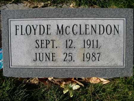 MCCLENDON, FLOYDE - Dawes County, Nebraska | FLOYDE MCCLENDON - Nebraska Gravestone Photos