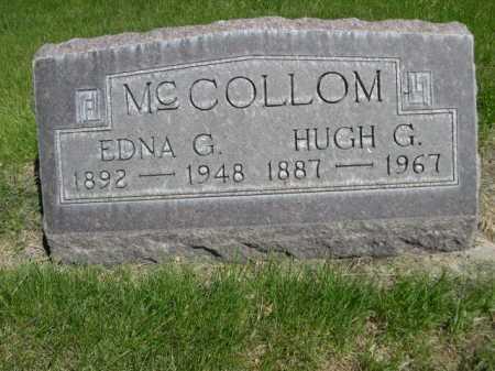 MCCOLLOM, EDNA G. - Dawes County, Nebraska | EDNA G. MCCOLLOM - Nebraska Gravestone Photos