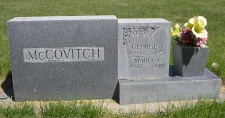 MCCOVITCH, MABLE E. - Dawes County, Nebraska   MABLE E. MCCOVITCH - Nebraska Gravestone Photos