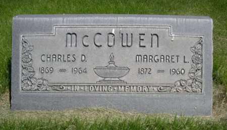 MCCOWEN, MARGARET L. - Dawes County, Nebraska   MARGARET L. MCCOWEN - Nebraska Gravestone Photos