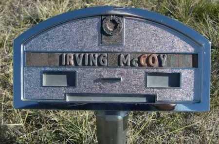 MCCOY, IRVING - Dawes County, Nebraska | IRVING MCCOY - Nebraska Gravestone Photos