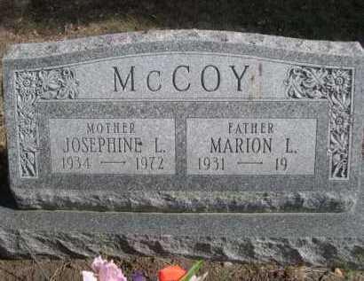 MCCOY, JOSEPHINE L. - Dawes County, Nebraska | JOSEPHINE L. MCCOY - Nebraska Gravestone Photos