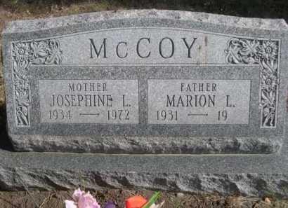 MCCOY, MARION L. - Dawes County, Nebraska | MARION L. MCCOY - Nebraska Gravestone Photos