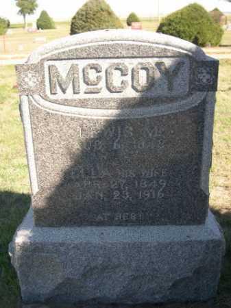 MCCOY, LEWIS M. - Dawes County, Nebraska | LEWIS M. MCCOY - Nebraska Gravestone Photos