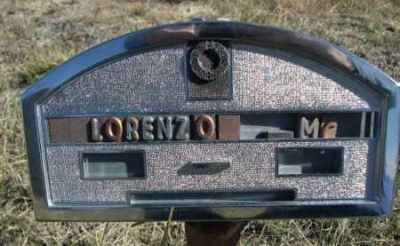 MCCOY, LORENZO - Dawes County, Nebraska | LORENZO MCCOY - Nebraska Gravestone Photos