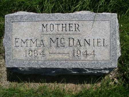 MCDANIEL, EMMA - Dawes County, Nebraska | EMMA MCDANIEL - Nebraska Gravestone Photos