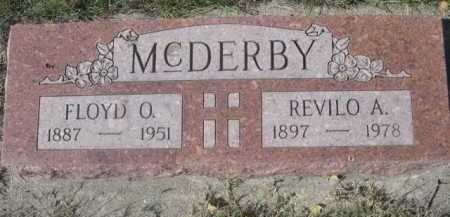 MCDERBY, REVILO A. - Dawes County, Nebraska | REVILO A. MCDERBY - Nebraska Gravestone Photos