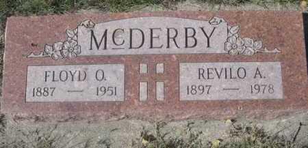 MCDERBY, FLOYD O. - Dawes County, Nebraska | FLOYD O. MCDERBY - Nebraska Gravestone Photos
