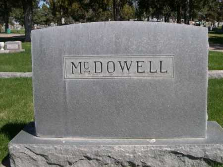 MCDOWELL, FAMILY - Dawes County, Nebraska | FAMILY MCDOWELL - Nebraska Gravestone Photos