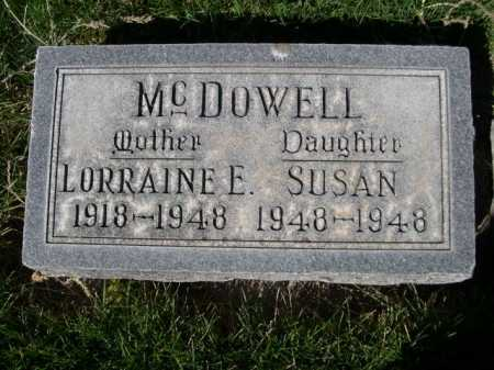 MCDOWELL, SUSAN - Dawes County, Nebraska | SUSAN MCDOWELL - Nebraska Gravestone Photos