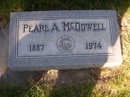 MCDOWELL, PEARL A. - Dawes County, Nebraska | PEARL A. MCDOWELL - Nebraska Gravestone Photos