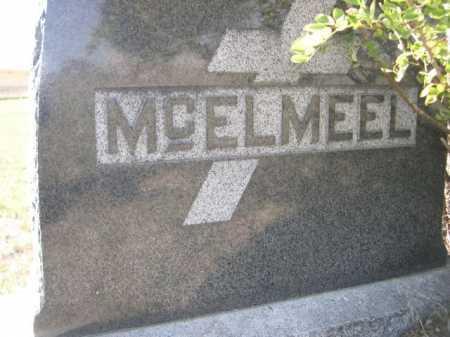 MCELMEEL, FAMILY - Dawes County, Nebraska   FAMILY MCELMEEL - Nebraska Gravestone Photos