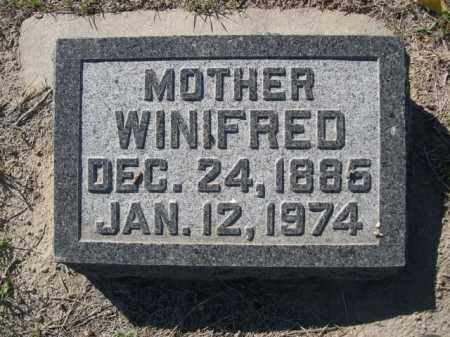 MCELMEEL, WINIFRED - Dawes County, Nebraska | WINIFRED MCELMEEL - Nebraska Gravestone Photos