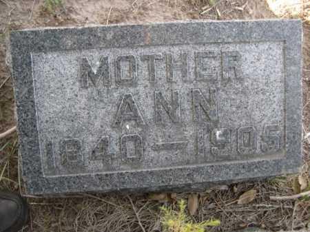 MCFARLAND, ANN - Dawes County, Nebraska | ANN MCFARLAND - Nebraska Gravestone Photos