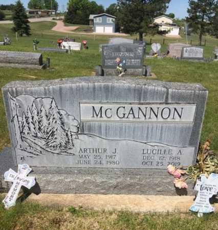 MCGANNON, ARTHUR J. - Dawes County, Nebraska | ARTHUR J. MCGANNON - Nebraska Gravestone Photos