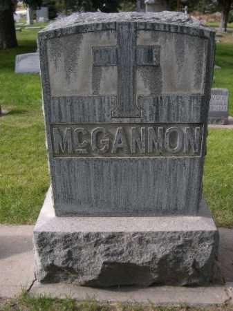 MCGANNON, FAMILY - Dawes County, Nebraska   FAMILY MCGANNON - Nebraska Gravestone Photos