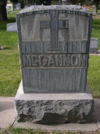MCGANNON, FAMILY - Dawes County, Nebraska | FAMILY MCGANNON - Nebraska Gravestone Photos