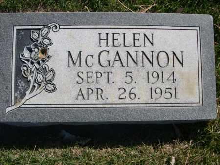 MCGANNON, HELEN - Dawes County, Nebraska | HELEN MCGANNON - Nebraska Gravestone Photos
