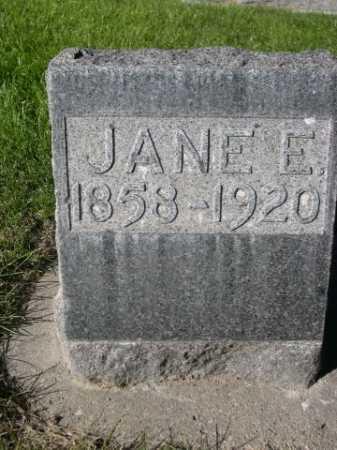 MCGANNON, JANE E. - Dawes County, Nebraska | JANE E. MCGANNON - Nebraska Gravestone Photos