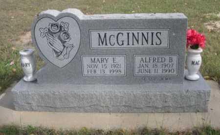 MCGINNIS, ALFRED B. - Dawes County, Nebraska | ALFRED B. MCGINNIS - Nebraska Gravestone Photos