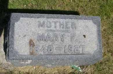 MCGOFFIN, MARY F. - Dawes County, Nebraska | MARY F. MCGOFFIN - Nebraska Gravestone Photos