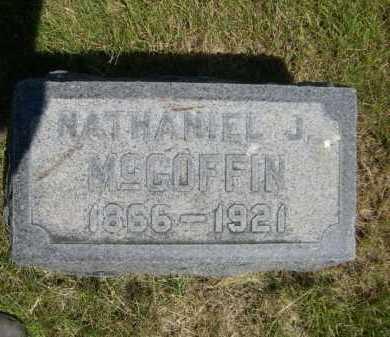 MCGOFFIN, NATHANIEL J. - Dawes County, Nebraska | NATHANIEL J. MCGOFFIN - Nebraska Gravestone Photos