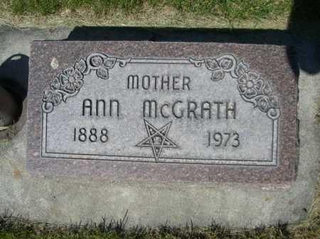 MCGRATH, ANN - Dawes County, Nebraska | ANN MCGRATH - Nebraska Gravestone Photos