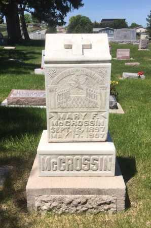 MCCROSSIN, MARY F. - Dawes County, Nebraska | MARY F. MCCROSSIN - Nebraska Gravestone Photos