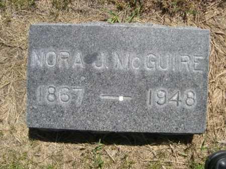 MCGUIRE, NORA J. - Dawes County, Nebraska | NORA J. MCGUIRE - Nebraska Gravestone Photos