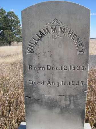 MCHENEY, WILLAIM M. - Dawes County, Nebraska | WILLAIM M. MCHENEY - Nebraska Gravestone Photos