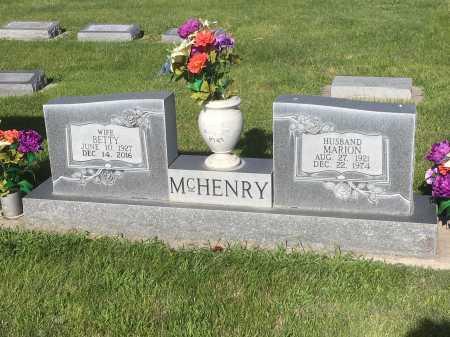 MCHENRY, BETTY - Dawes County, Nebraska | BETTY MCHENRY - Nebraska Gravestone Photos