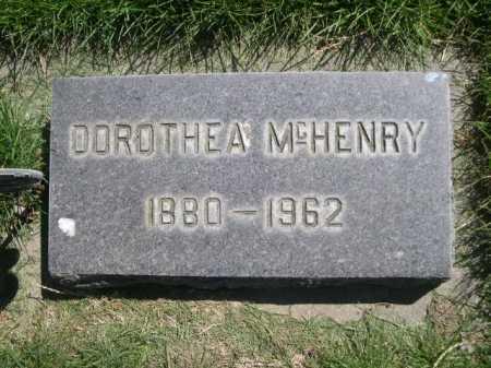 MCHENRY, DORTHEA - Dawes County, Nebraska | DORTHEA MCHENRY - Nebraska Gravestone Photos