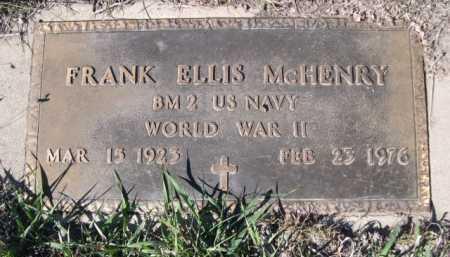 MCHENRY, FRANK ELLIS - Dawes County, Nebraska   FRANK ELLIS MCHENRY - Nebraska Gravestone Photos